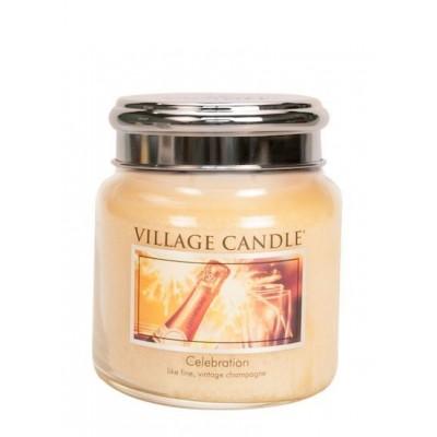 Village Candle Medium Jar Celebration