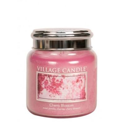 Village Candle Medium Jar Cherry Blossom