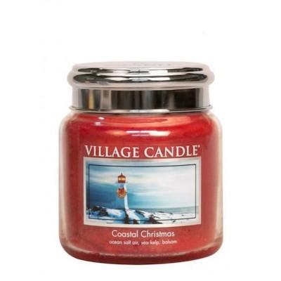 Village Candle Medium Jar Coastal Christmas