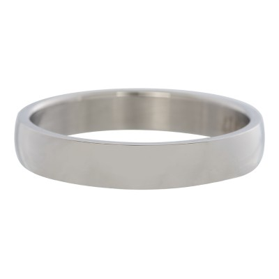 iXXXi ring Glad Zilver 4mm