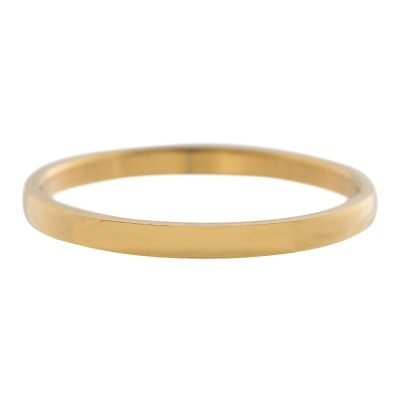 iXXXi ring smal Glad Goud 2mm
