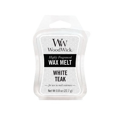 Woodwick White Teak Wax Melt