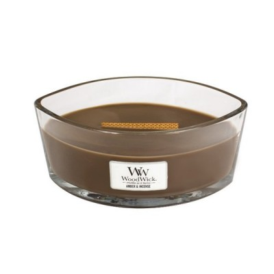 Woodwick Amber&Incense Candle Ellips