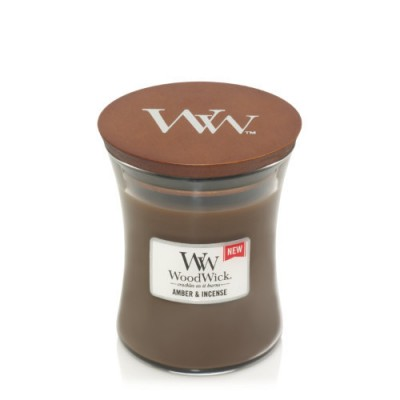 Woodwick Amber & Incense Candle Medium