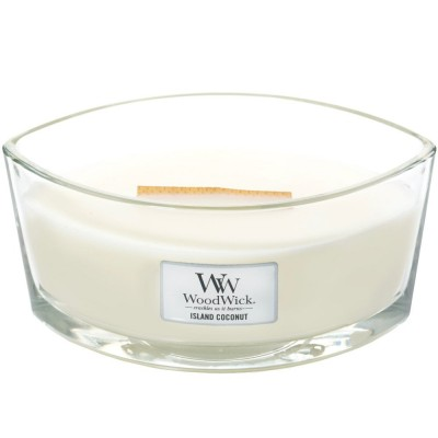Woodwick Island Coconut Candle ellipse