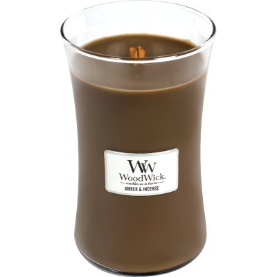Woodwick Amber&Incense Large Candle