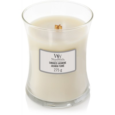 Woodwick Smoked Jasmine Candle Medium