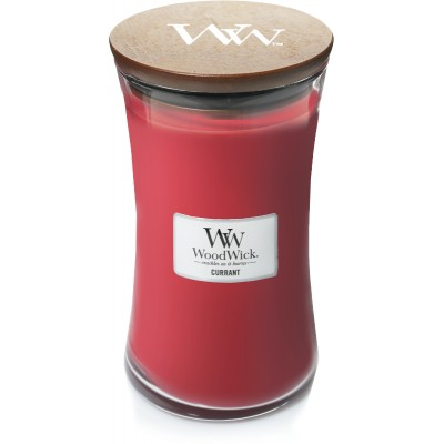 Woodwick Currant Large Candle