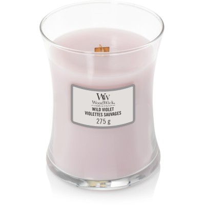 Woodwick Wild Violet Candle Medium
