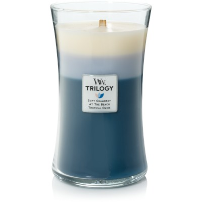 Woodwick Beachfront Cottage Trilogy Large Candle