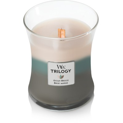 Ocean Breeze Trilogy Medium Candle