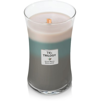 Ocean Breeze Trilogy Large Candle