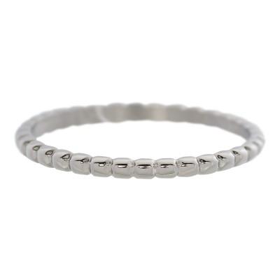 iXXXi Bolletjes Ring 2mm Zilver