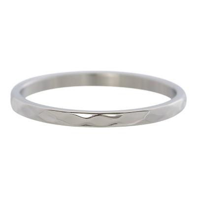 iXXXi Hammerite ring zilver