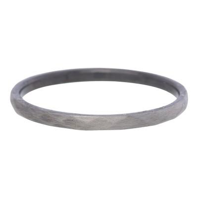 iXXXi Hammerite ring 2mm antiek zilver