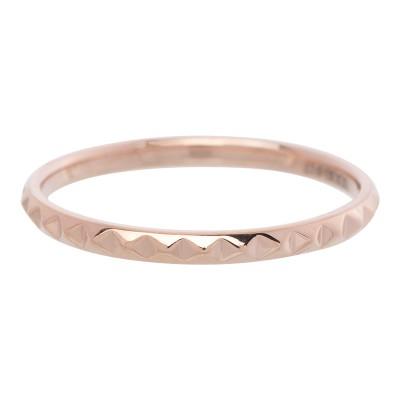 iXXXi Pyramide Ring 2mm Rose