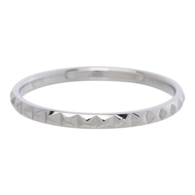 iXXXi Pyramide Ring 2mm Zilver