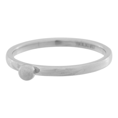 iXXXi Bolletje Ring Zilver 2mm