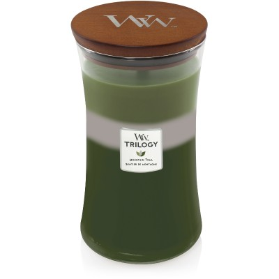 Woodwick Mountain Trail Trilogy Large Candle