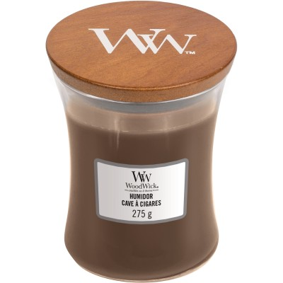 Woodwick Humidor Candle Medium