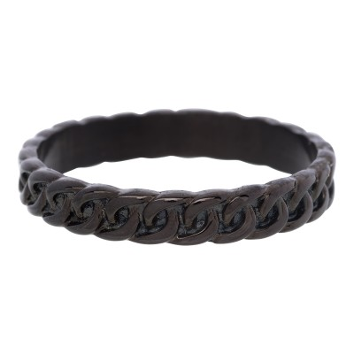 iXXXi Curb Chain Ring Zwart 4mm