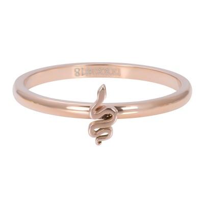 iXXXi Symbol Snake Rose 2mm