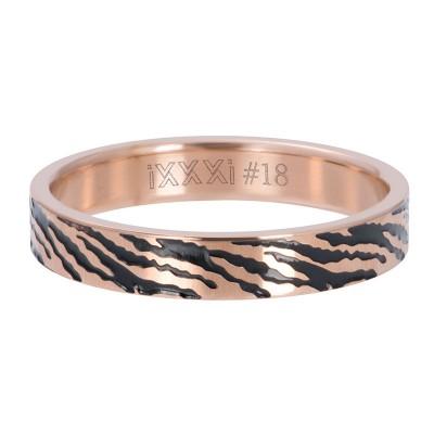 iXXXi Zebra Rose 4mm