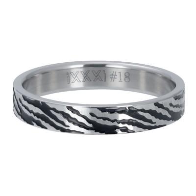iXXXi Zebra Zilver 4mm