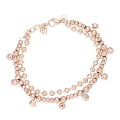 IXXXI Dazzling Circles Armband Rosé
