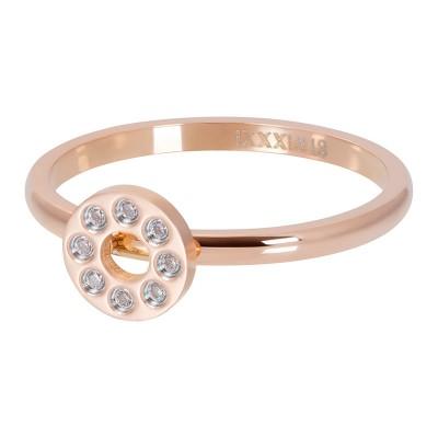 iXXXi Flat Circles Crystal Stone Rose 2mm