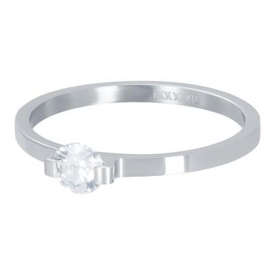iXXXi Mini Glamour Stone Zilver 2mm