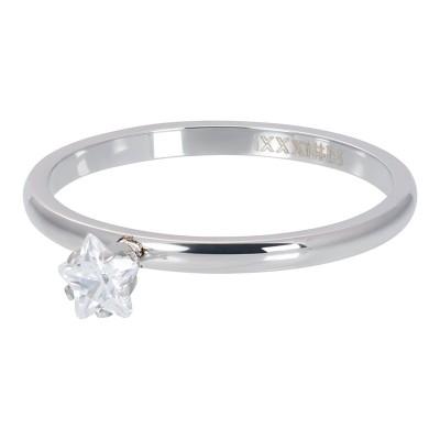 iXXXi Triangle Crystal Stone Zilver 2mm
