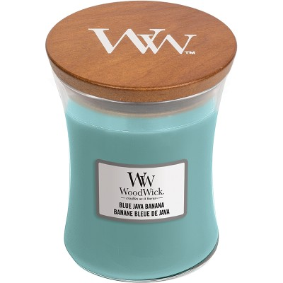 Woodwick Blue Java Banana Candle Medium