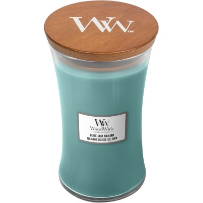 Woodwick Blue Java Banana Large Candle