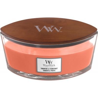 Woodwick Tamarind & Stonefruit Candle Ellips