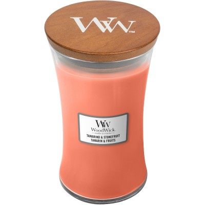 Woodwick Tamarind & Stonefruit Large Candle