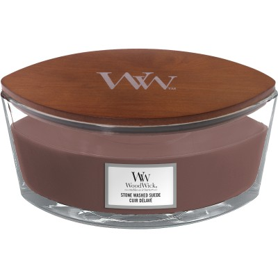 Woodwick  Stone Washed Suede Candle Ellips