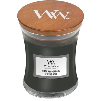 Woodwick Black Peppercorn Candle Mini