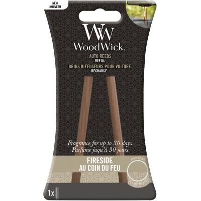 Woodwick Auto Reed Refill Fireside