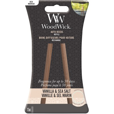 Woodwick Auto Reed Refill Vanilla & Sea Salt