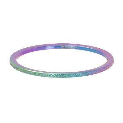 iXXXi sandblasted ring 1mm Rainbow
