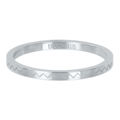 iXXXi ring Heartbeat Zilver 2mm