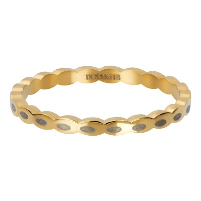 iXXXi ring Oval Shape Goud 2mm