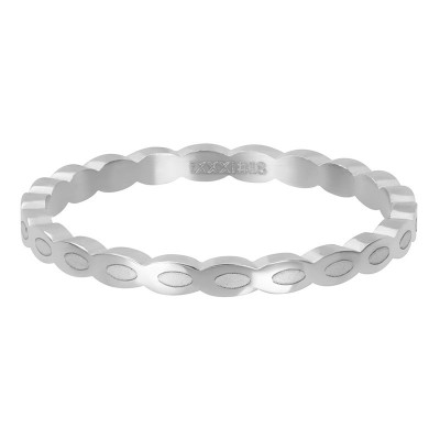 iXXXi ring Oval Shape Zilver 2mm
