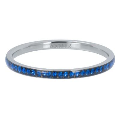 iXXXi Zirconia ring 2mm Capri Blue