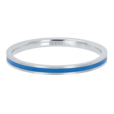 iXXXi ring Line Blue 2mm