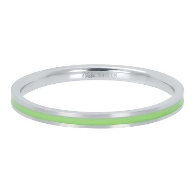 iXXXi ring Line Green 2mm