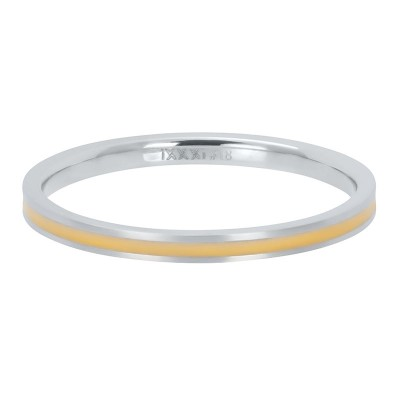 iXXXi ring Line Yellow 2mm