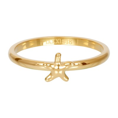 iXXXi Symbol Sea Star Goud 2mm