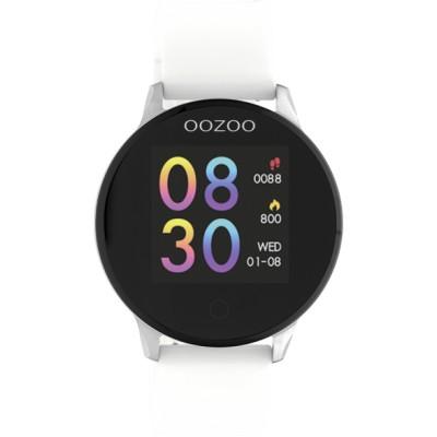OOZOO Smartwatch wit/zilver 43mm Q00110
